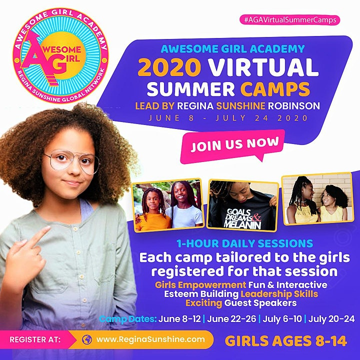 Awesome Girl Academy Virtual Summer Camps image