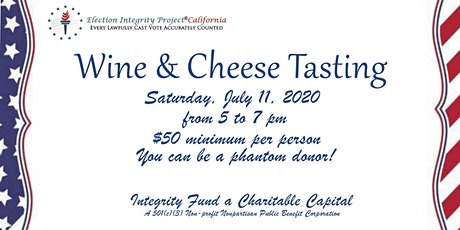 Wine & Cheese Tasting an EIPCa Fundraiser   tickets