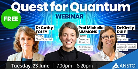 The Quest for Quantum - Free Online Event  tickets