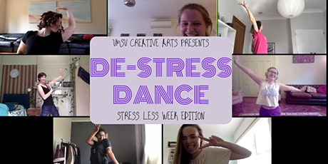 De-stress Dance - Stress Less Week Edition tickets