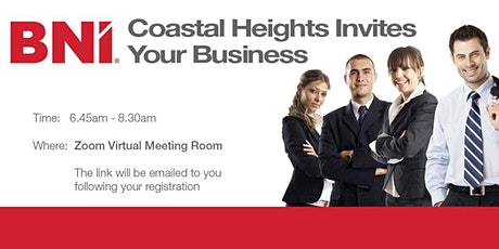 BNI Coastal Heights Breakfast Registration 2020 tickets
