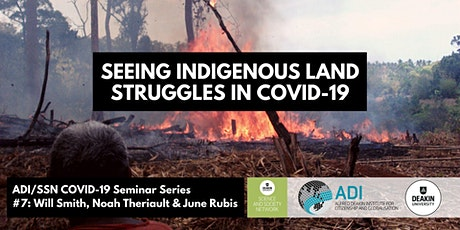 ADI/SSN COVID-19 Seminar Series #7: Smith, Theriault and Rubis tickets
