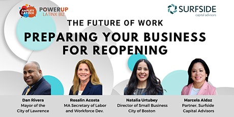 The Future of Work: Preparing Your Business for Reopening tickets
