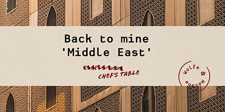 "BACK TO MINE ""MIDDLE EAST"" tickets"