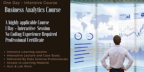Business Analytics (BA) Data Analytics Fundamentals - One Day Course tickets
