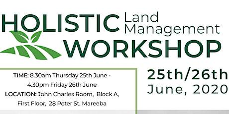 Holistic Land Management Workshop tickets