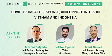 COVID-19: Impact, Response, and Opportunities in Vietnam and Indonesia tickets