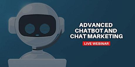 Advanced Chatbot and Chat Marketing biglietti