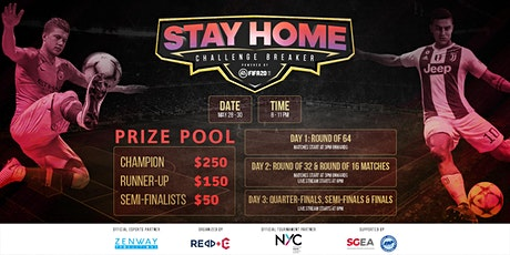Stay Home Challenge Breaker - FIFA 20 tickets