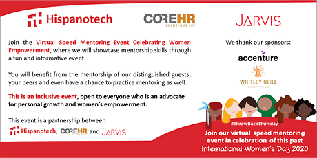 Virtual Speed Mentoring Event- Celebrating Women Empowerment tickets
