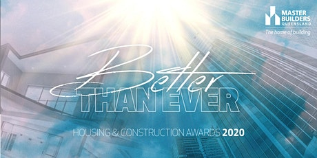 North Queensland Housing and Construction Awards 2020 tickets