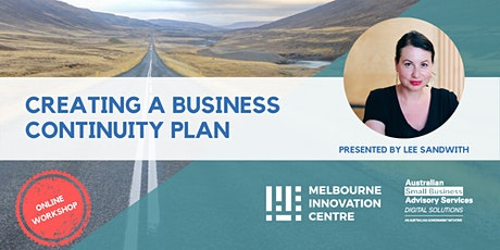 BRP: Create a Business Continuity Plan for Small Business tickets