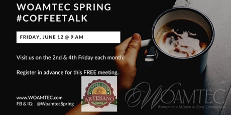 WOAMTEC Spring #CoffeeTalk with Leslie Taylor tickets