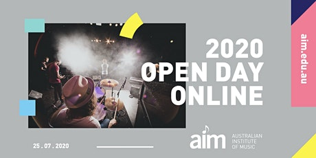 AIM Open Day, July 2020 | ONLINE tickets