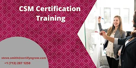 CSM 2 Days Certification Training in Louisville, KY ,USA tickets