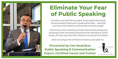 Eliminate Your Fear of Public Speaking