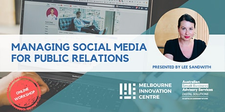 Guide to Managing Social Media for Public Relations tickets