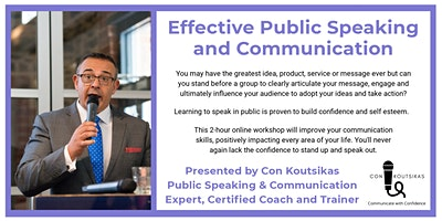 Effective  Public Speaking and Communication