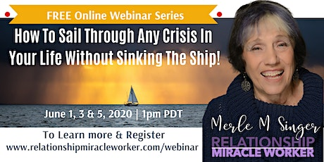 How to Sail Through ANY Crisis Without Sinking The Ship! tickets