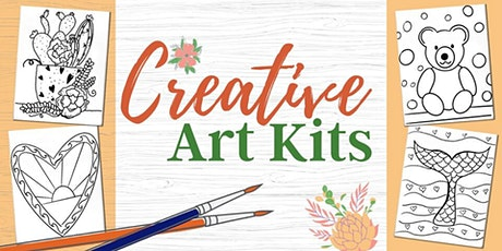 Creative Art Kits -to go- PICK UP DATE: vrijdag 26 juni/Friday  June 26th tickets