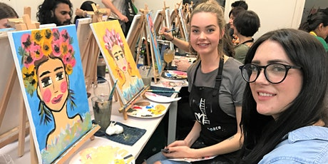 Paint and Sip Class: Frieda Style tickets