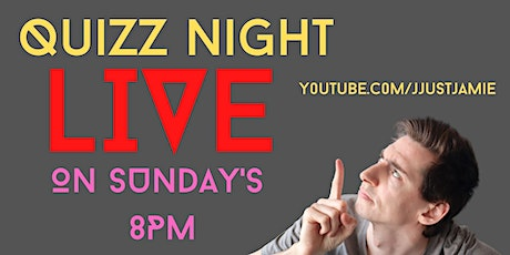 Interactive Quiz Night Live @Home tickets