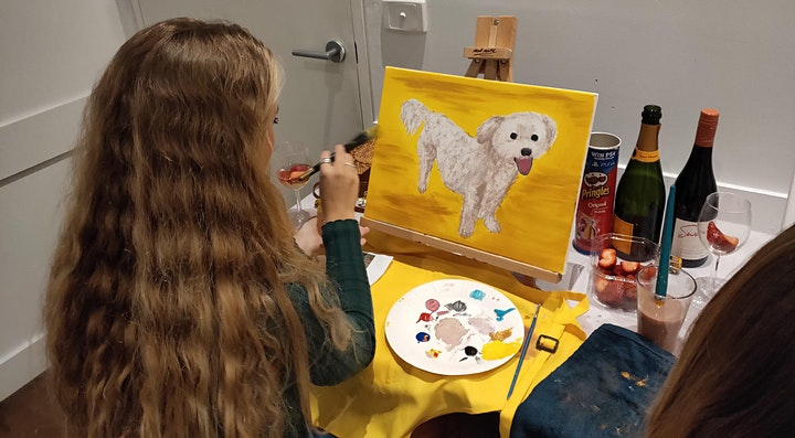 'Paint Your Pet' - Paint and Sip Class image