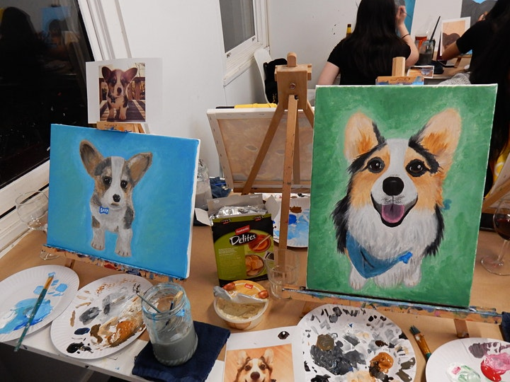 'Paint Your Pet' - Paint and Sip Class image