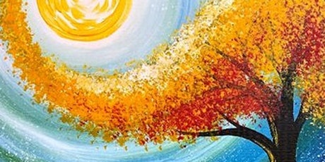 Paint and Sip Class: Autumn Moon tickets