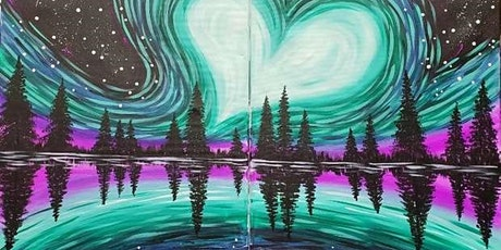 Paint and Sip Class: Date Night (Pair-up Painting) - Northern Love Lights tickets