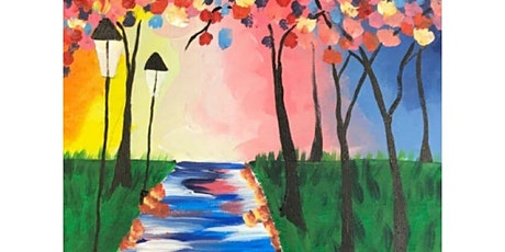 Paint and Sip Class: Morning Walk tickets