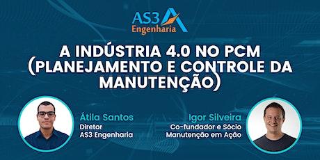 Live AS3: A indústria 4.0 no PCM (Planejamento e Controle da Manutenção) ingressos