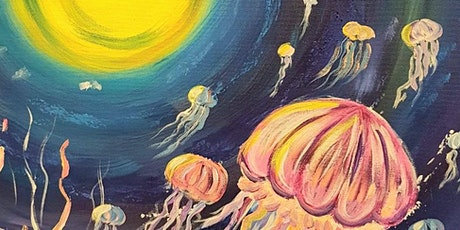 Paint and Sip Class: Jellyfish tickets
