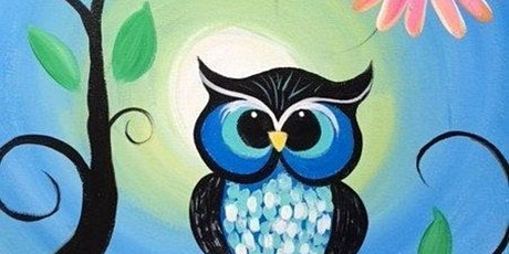 Paint and Sip Class: Blue Owl tickets