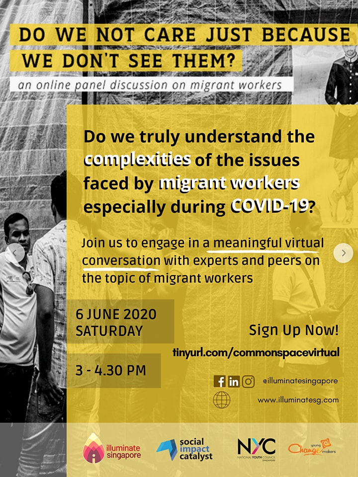 .Common Space: A Virtual Fireside Chat on SG Migrant Workers in COVID-19 image
