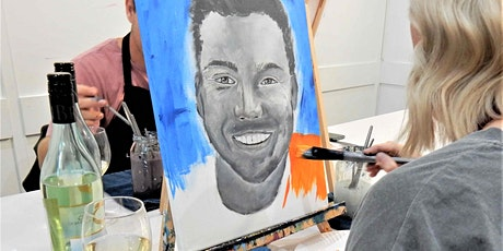 Portrait Painting - Sip and Paint Class tickets