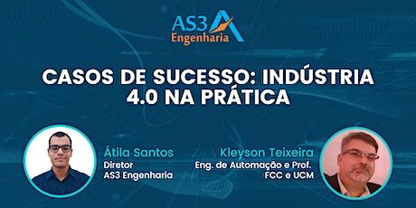 Live AS3: Casos de Sucesso: Indústria 4.0 na prática ingressos