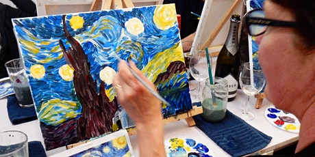 Paint and Sip Class: The Starry Night tickets