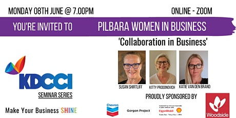 Pilbara Women In Business - Collaboration in Business  tickets