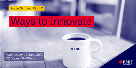 Antler Seminar 2: Ways of Innovate tickets