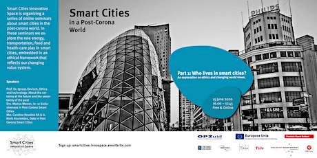 Who's living in Post Corona Smart Cities? tickets