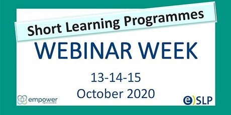 EMPOWER webinar week on Short Learning Programmes ingressos
