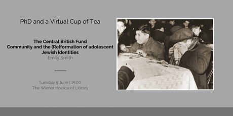 The Central British Fund & (Re)formation of adolescent Jewish identities tickets