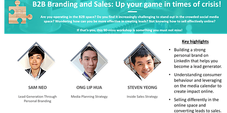 B2B Branding and Sales: Up Your Game in Times of Crisis! tickets