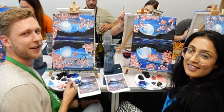 Paint and Sip Class: Lucid Lake tickets