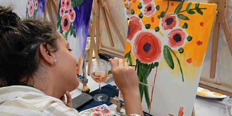 Paint and Sip Class: Freshly Picked Roses tickets