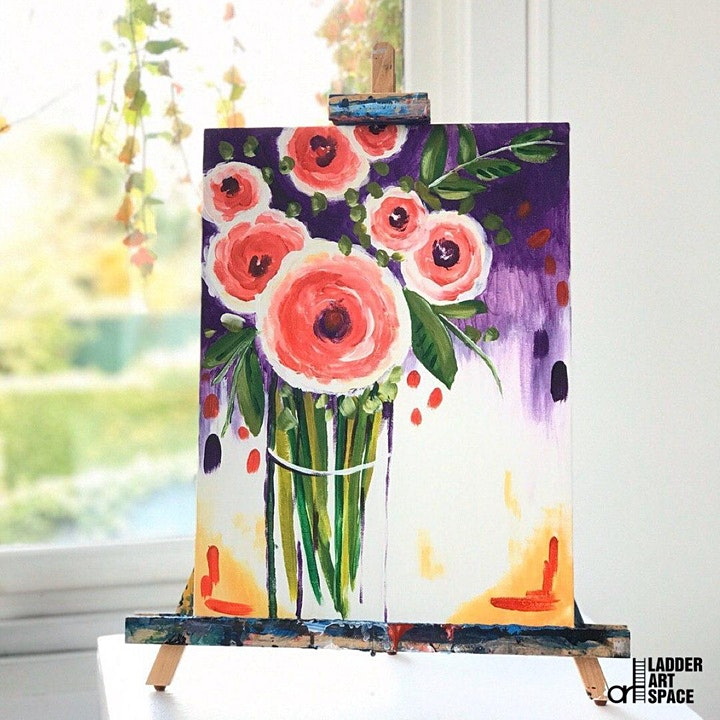Paint and Sip Class: Freshly Picked Roses image