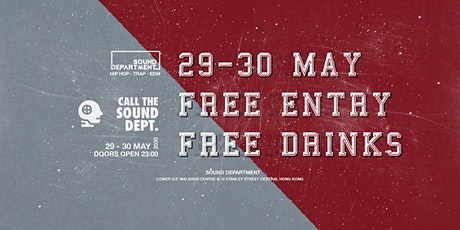 WEEKEND FREE ENTRY GUESTLIST (FREE DRINKS) @ Sound Department tickets