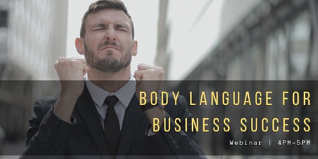 Body Language For Business Success  tickets