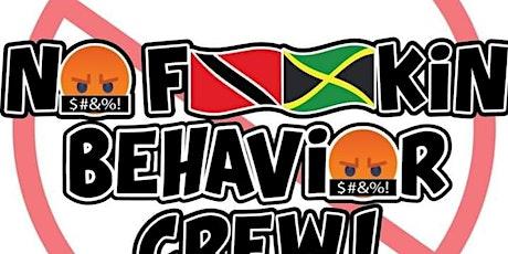 No Fu*kin Behavior Crew Online GLOW Launch PARTY tickets